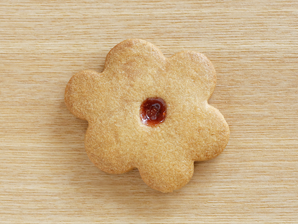 一番人気!お花のクッキー<br><br>2枚入り¥250