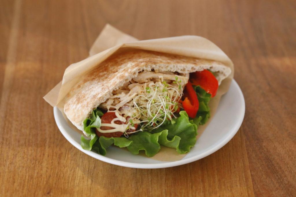 ピタパンサンドイッチ<br>¥600〜