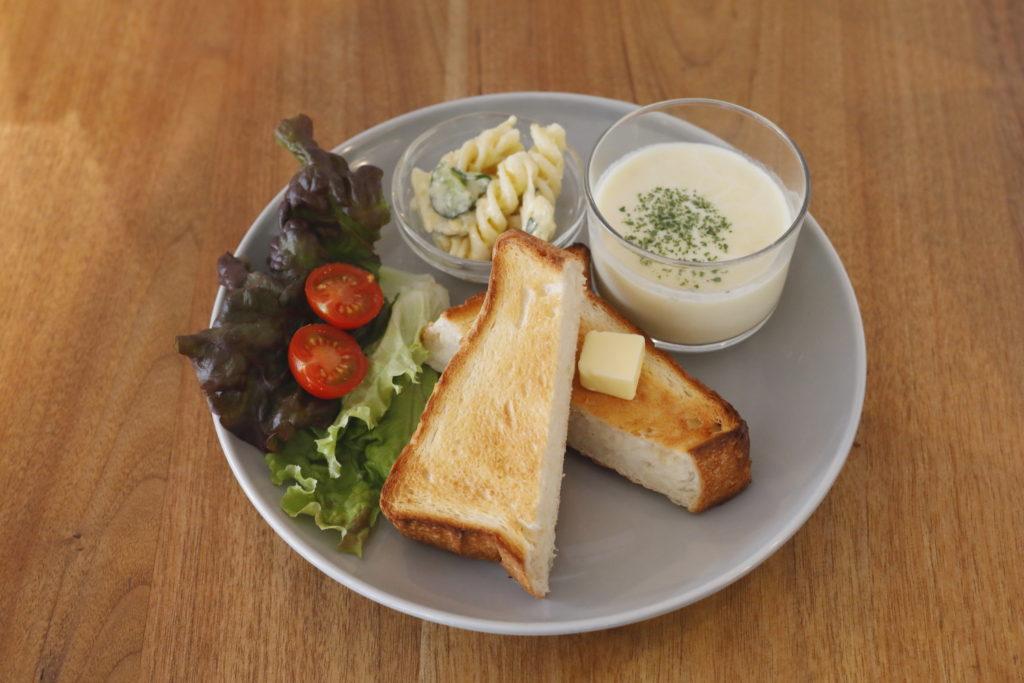 バタートーストプレート<br>¥650
