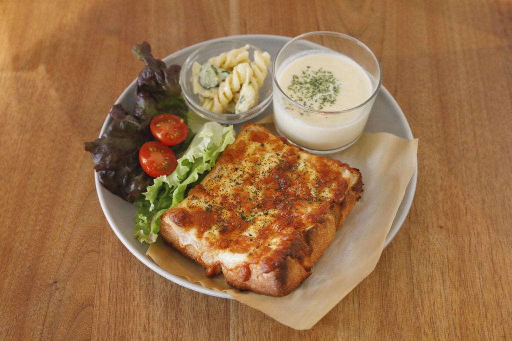 チーズトーストプレート<br>¥850